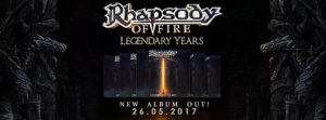 rhapsody of fire legendary years announcement