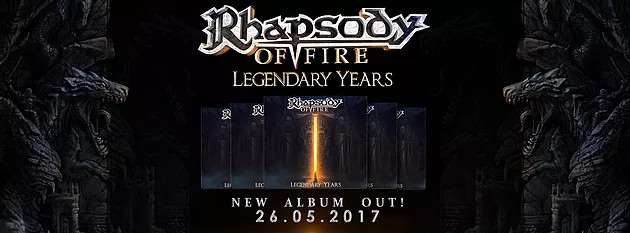 rhapsody of fire legendary years announcement
