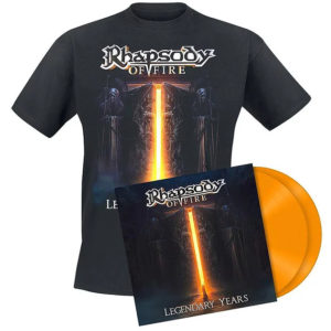 rhapsody of fire legendary years merchandising