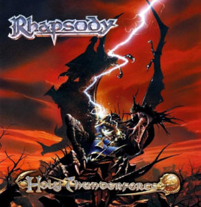 rhapsody holy thunderforce