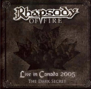 rhapsody of fire live in canada